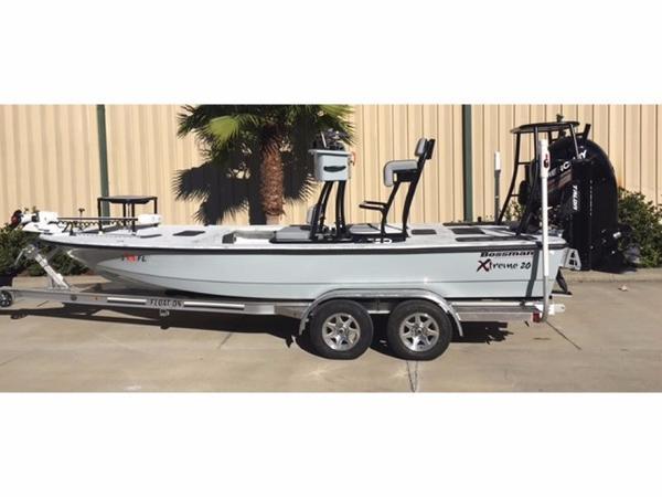 2017 Bossman Boats Xtreme 20