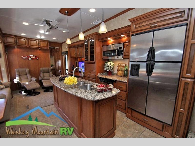 2012 DRV Mobile Suites Atlanta 45' Quad Slide 2 Bedroom, 5