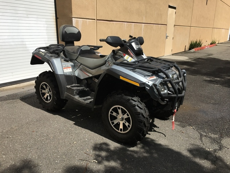2007 Can-Am Outlander MAX 800 H.O. EFI Ltd