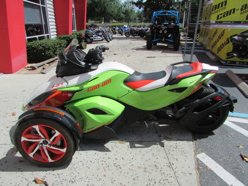 2015 Can-Am Spyder RS-S Special Series 5-Speed Semi-Automatic (SE5)