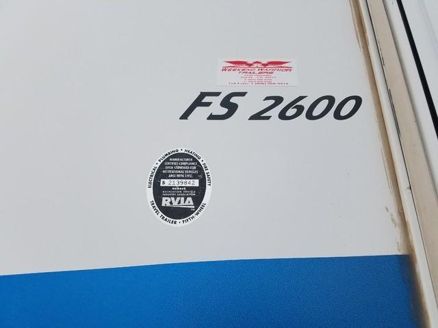 2008 Weekend Warrior FS2600, 1