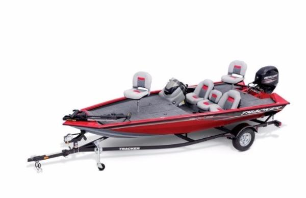 2017 TRACKER BOATS Pro Team 175 TXW With trailer