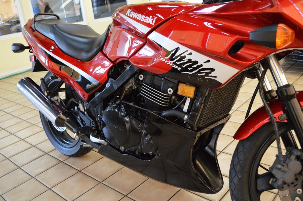 2006 Kawasaki NINJA 500R, 5
