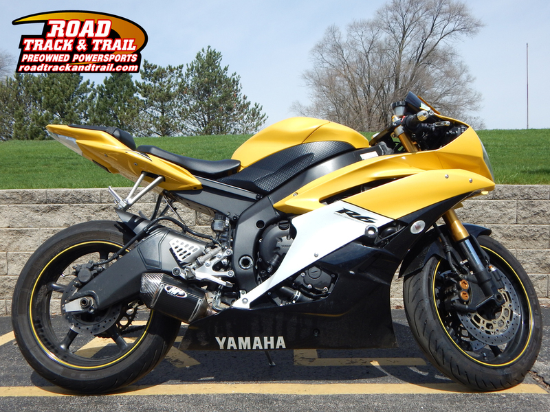 2006 Yamaha YZF-R6 50th Anniversary Yellow/Black