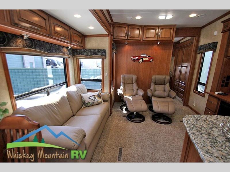 2012 DRV Mobile Suites Atlanta 45' Quad Slide 2 Bedroom, 7