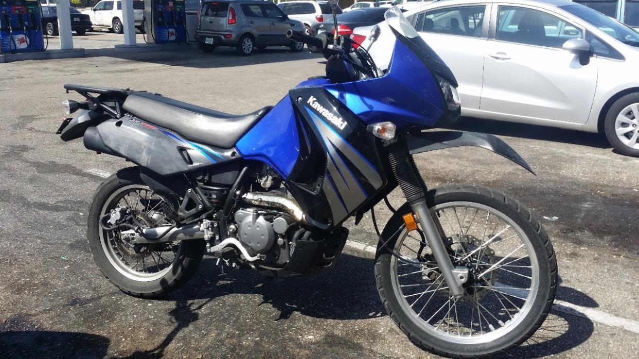 2010 Kawasaki KLR 650, 1