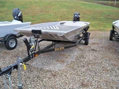 2017 Alweld 1652 Sport Jon W/ Jet 40 hp Tiller Steer