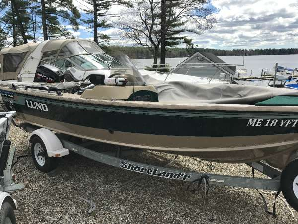1997 Lund Pro Angler 17