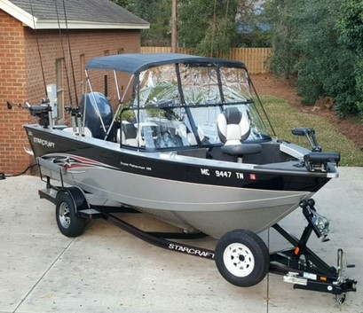 2013 Starcraft Superfisherman 186