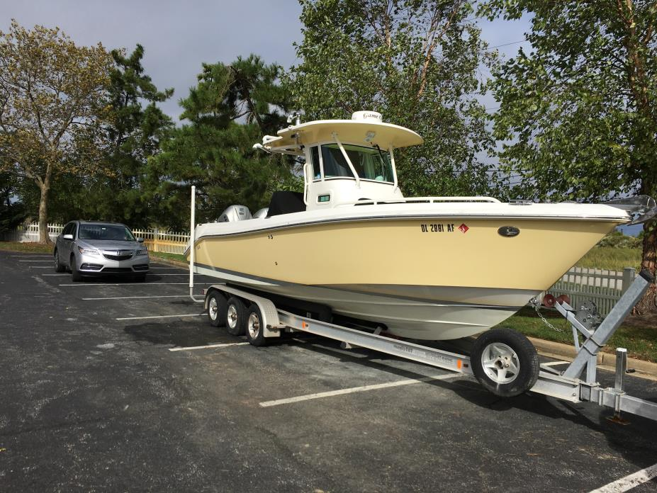 2007 EVERGLADES BOATS 260CC