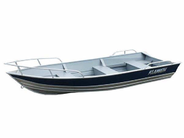 2017 Klamath Boats Utility 16 Alaskan