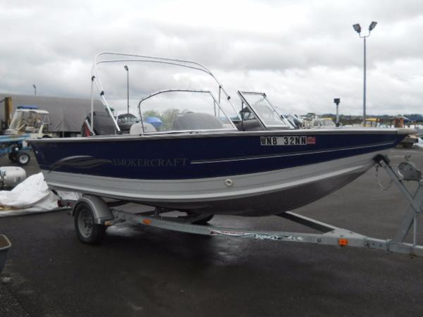 2004 SMOKERCRAFT 17 Osprey Dlx