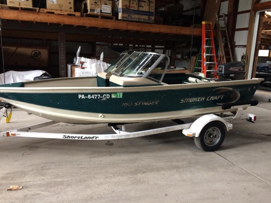 1999 Smoker Craft 160 Stinger