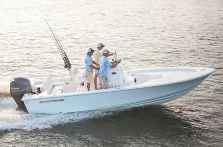 2017 Sportsman Boats Masters 227 Bay Boat
