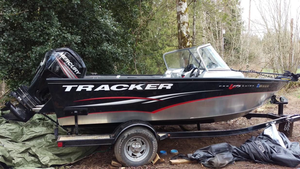 2012 Tracker Fishandski combo