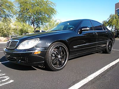 Mercedes-Benz : S-Class Sport 2001 mercedes benz s 600 base sedan 4 door 6.0 l v 12 luxury speed performance