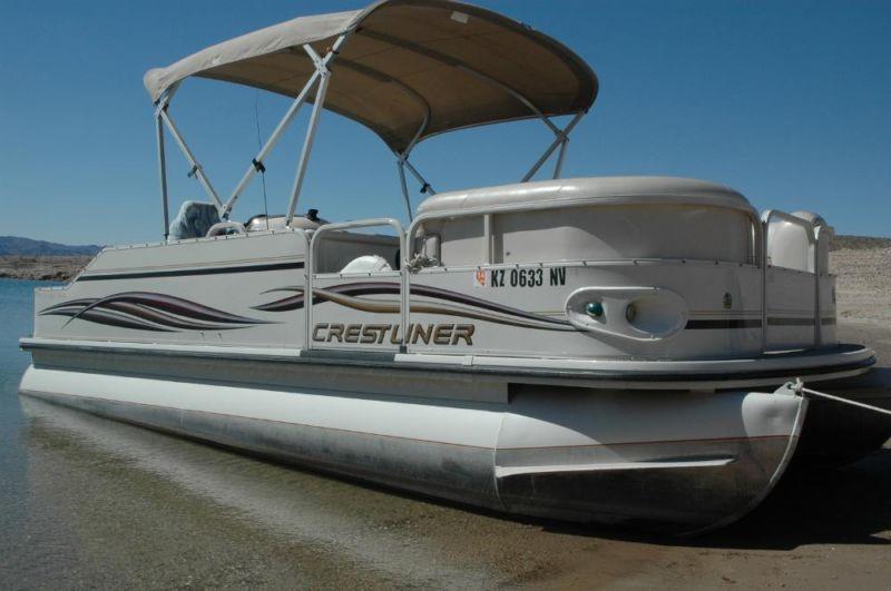 2006 Crestliner Pontoon Boat. 21ft In Good Condition.