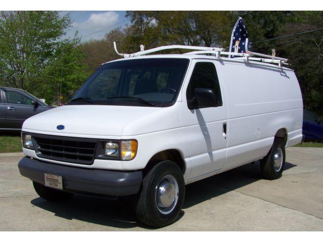 Ford : E-Series Van E-350 160k OVER 10 CARGO VANS N STOCK 770-345-0282 NEAT-RARE-FIND-1TON-1-OWNER-7.3L-DIESEL-COLD-AC-GA-WAGON-NON-DURAMAX-POWERSTROKE