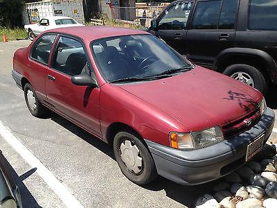 Toyota : Tercel CE SEDAN 2 DOOR 1994 toyota tercel 2 door coupe auto 135 k miles