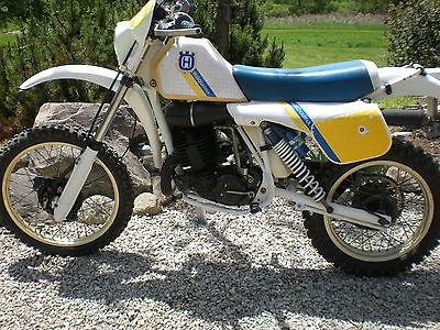 Husqvarna 1984 husqvarna wr 250 vintage enduro ahrma