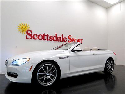 BMW : 6-Series SPORT PKG, HEADS UP, LUX SEATING, A/C SEATS, SPORT 12 bmw 650 cv 22 k miles sprt pkg heads up lux seating a c seats sprt whls