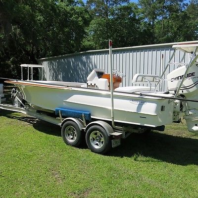 Bayshore Custom Carolina Edition Flats Boat--Only 49 Built!