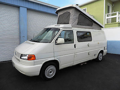 Volkswagen : EuroVan MV Camper Full Kitchen Winnebago 1 Owner 2000 volkswagen eurovan mv camper full kitchen winnebago westfalia 1 owner