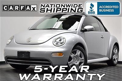 Volkswagen : Beetle-New GLS 60 k loaded convertible shipping or 5 year warranty service records carfax