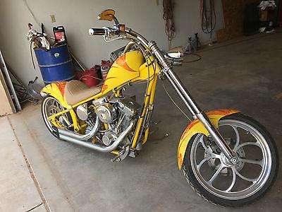 Custom Built Motorcycles : Chopper Carefree Custom Chopper