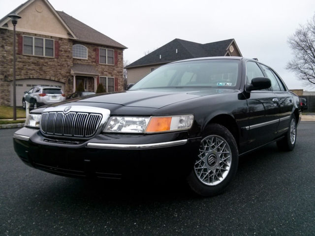 Mercury : Grand Marquis 4dr Sdn GS 1999 mercury grand marquise one owner super low 12 k miles carfax