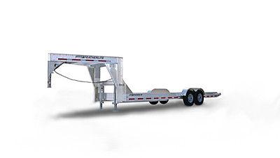Featherlite 3112 Gooseneck Open Car/Equipment Trailer - 24 Foot Length
