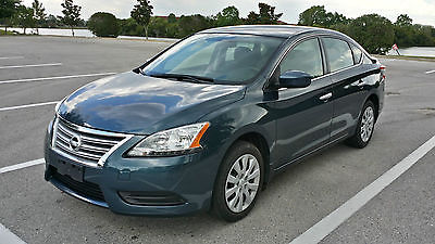 Nissan : Sentra FE-SV Sedan 4-Door 2014 nissan sentra sv sedan factory warranty clean title