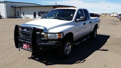 2003 DODGE RAM 3500 4 DOOR SHORT BED CREW CAB TRUCK