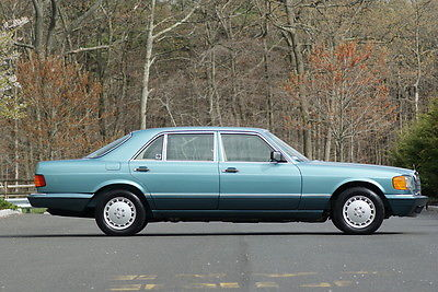 Mercedes-Benz : 500-Series SEL 1991 mercedes benz 560 sel extremely rare color 31 k mile collector quality car