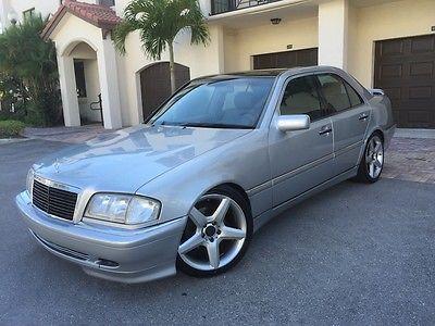 Mercedes-Benz : C-Class C280 Sport Sedan C280 Sport Well Maintained Garage Kept Florida Sunroof Spoiler Suspension Wheels