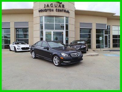 Mercedes-Benz : C-Class C250 Luxury 2012 c 250 luxury used turbo 1.8 l i 4 16 v automatic rear wheel drive sedan premium