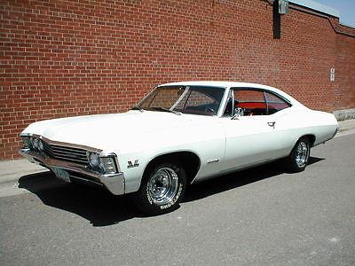 Chevrolet : Impala SS 1967 chevy impala ss 396 4 speed 12 bolt posi