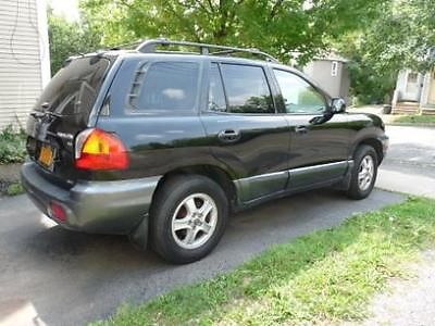 Hyundai : Santa Fe gls GLS V6 AWD:  black, new paint, new engine, rebuilt transmission, etc.
