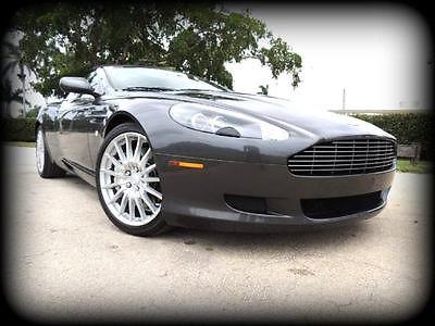 Aston Martin : DB9 Volante LESS THAN 1,500 ORIGINAL MILES, NEW VANQUISH TRADE - ABSOLUTELY BRAND NEW!