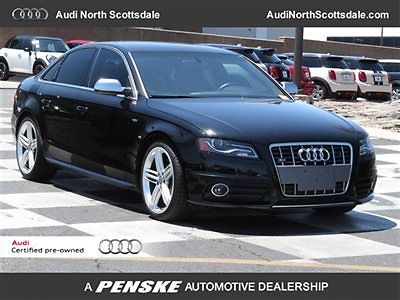 Audi : S4 Prestige Package Quattro 12 audi s 4 awd navigation black leather gps bluetooth ipod camera 19 wheels