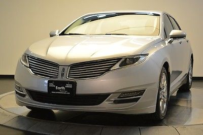 Lincoln : MKZ/Zephyr 2014 lincoln mkz sedan auto leather sunroof satellite radio premium audio