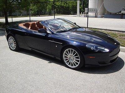Aston Martin : DB9 Volante db9, db7 vantage vanquish virage dbs sportshift volante convertible
