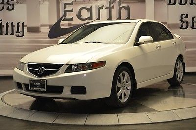 Acura : TSX Base Sedan 4-Door 2005 acura tsx sedan automatic moonroof leather heated seats nav