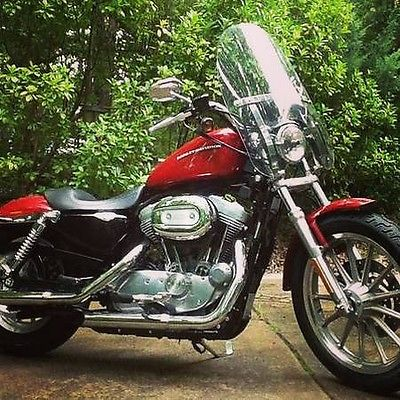 Harley-Davidson : Sportster 2005 harley davidson sportster red beautiful motorcycle sounds amazing