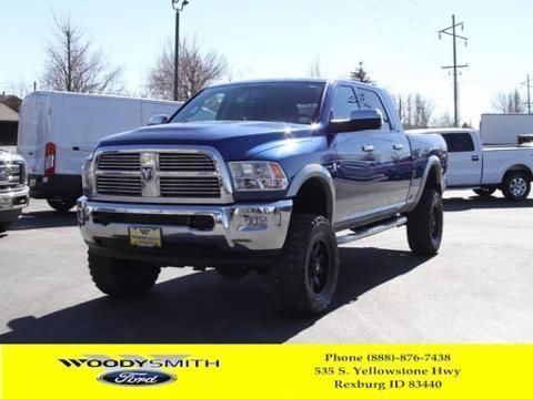 2011 DODGE RAM 3500 4 DOOR CREW CAB SHORT BED TRUCK