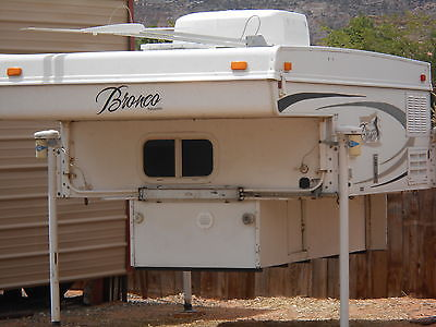 2008 Palomino BRONCO Lightweight Pop Up Slide In TRUCK Camper with A/C AZ/UT/NV