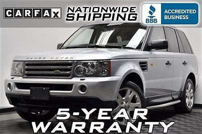 Land Rover : Range Rover Sport HSE AWD Loaded Nav Sport 5 Year Warranty Nationwide Shipping We Finance - CarFax