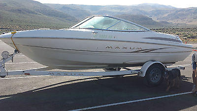 19' 5.0 Maxum Boat w/ Trailer, Full Cover and Bamini Top  **VERY LOW HOURS**