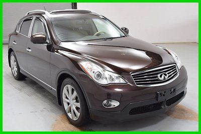 Infiniti : EX Journey AWD SUV NAV Sunroof Leather heated int FINANCING AVAILABLE! 53k Mi Used 2010 Infiniti EX35 Journey 6 Cyl SUV Backup Cam