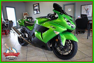 Kawasaki : Ninja 2009 kawasaki ninja zx 14 1400 cc sport neon green pearl fast super 20050 miles